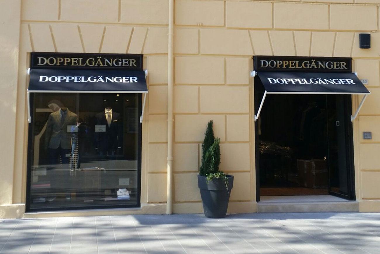 Ristrutturazione Negozio Doppelgänger Pesaro • Rebuilding Ancona