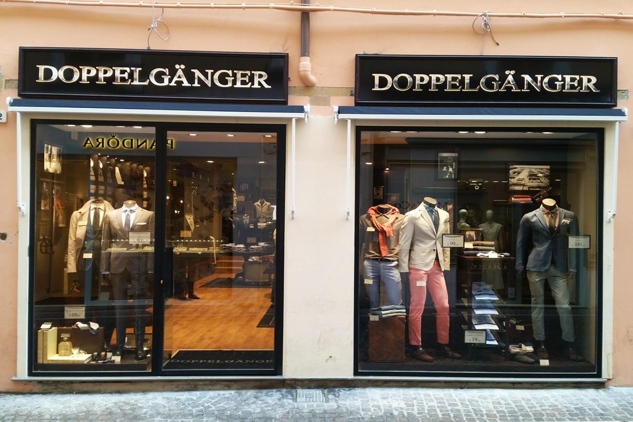 Ristrutturazione Negozio Doppelganger Pesaro - Rebuilding Ancona
