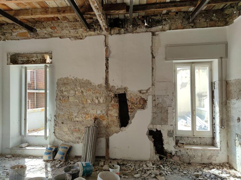 ristrutturazione appartamento in corso garibaldi ancona
